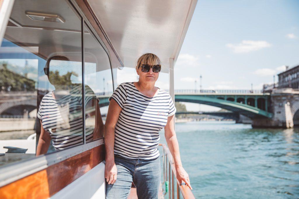 , Notre bateau, Frou-Frou, sous les jupons de la Seine
