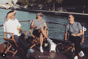Rencontre avec Christine bravo sur la Seine.